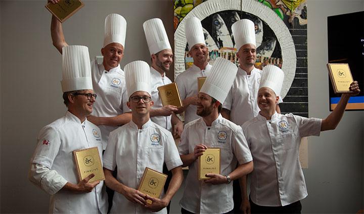 Finalisterna i Årets Kock 2018.