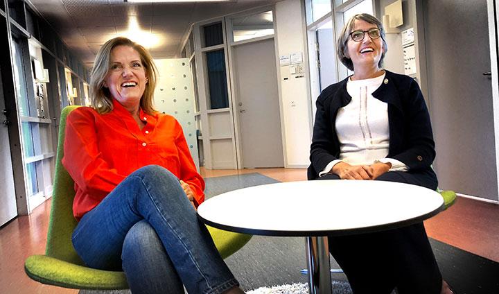 Annika Grälls och Åsa Öström