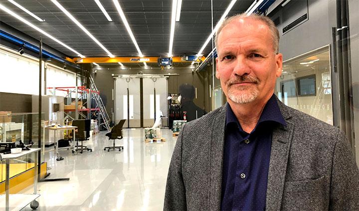 Göran Backlund på Saab Dynamics.