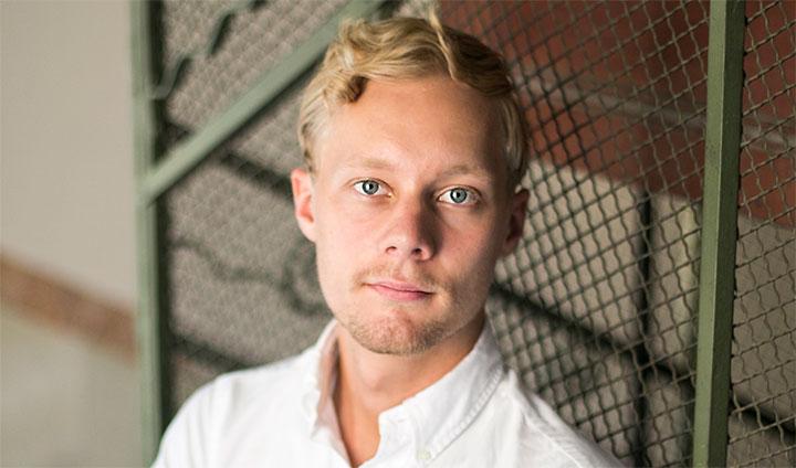 Adam Vikström, en av grundarna till Deligate.