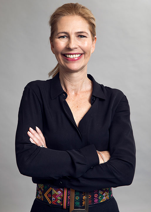 Mia Brunell Livfors.
