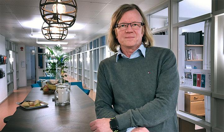 Tomas Lagerberg, global teknikchef för livsmedel inom ABB.