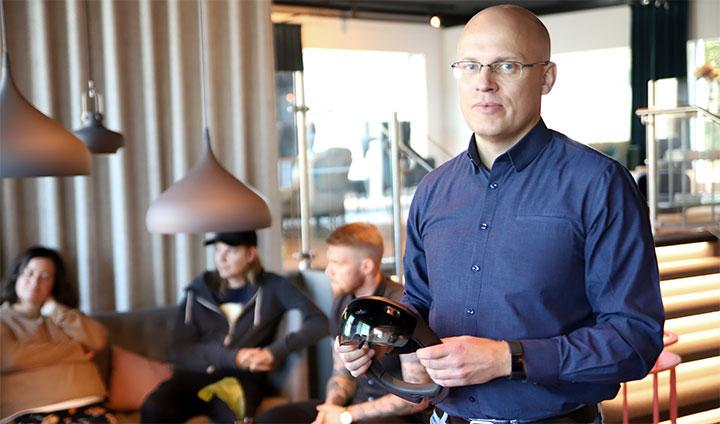 3.Fredrik Karlsson, produktionschef på Kopparbergs bryggeri.
