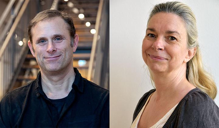 Forskarna Magnus Engwall och Eva Särndahl